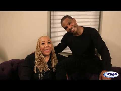 image for Kirk Franklin Chats with Patty Jackson Backstage at our 2019 Holiday Jam