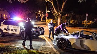 BEVERLY HILLS POLICE UNLAWFULLY TARGET US FOR THIS...