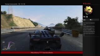 Gta directo con el Gato llendo al puente con rampa con auto