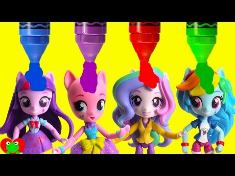 My Little Pony Magic Ponies Become Equestria Girls