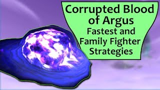 Corrupted Blood of Argus Pet Battle Guide and Family Fighter Strategies