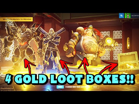 EXTREMELY LUCKY MOMENTS Luckiest Players EVER + Lucky Lootboxes - Overwatch