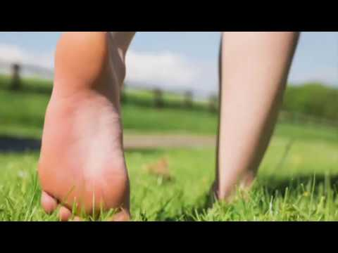 Blissful Mind Guided Meditation | Walking Barefoot in Nature Visualization | Positive Energy Imagery