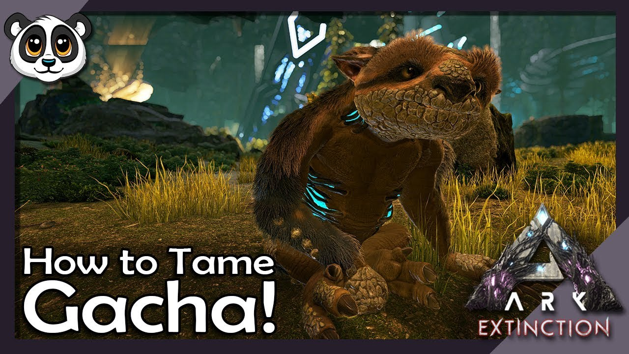 How to Tame Gacha! | ARK: Extinction