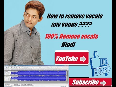 Thumbnail: How to Remove Vocals From a Song Using Audacity