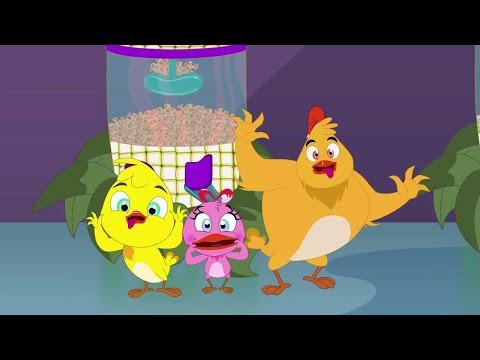 Eena Meena Deeka | Popcorn Factory | Funny Cartoon Compilation | Cartoons for Children