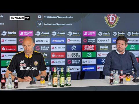 32. Spieltag | SGD - MSV | Vorstellung von Alexander Schmidt als neuer Cheftrainer