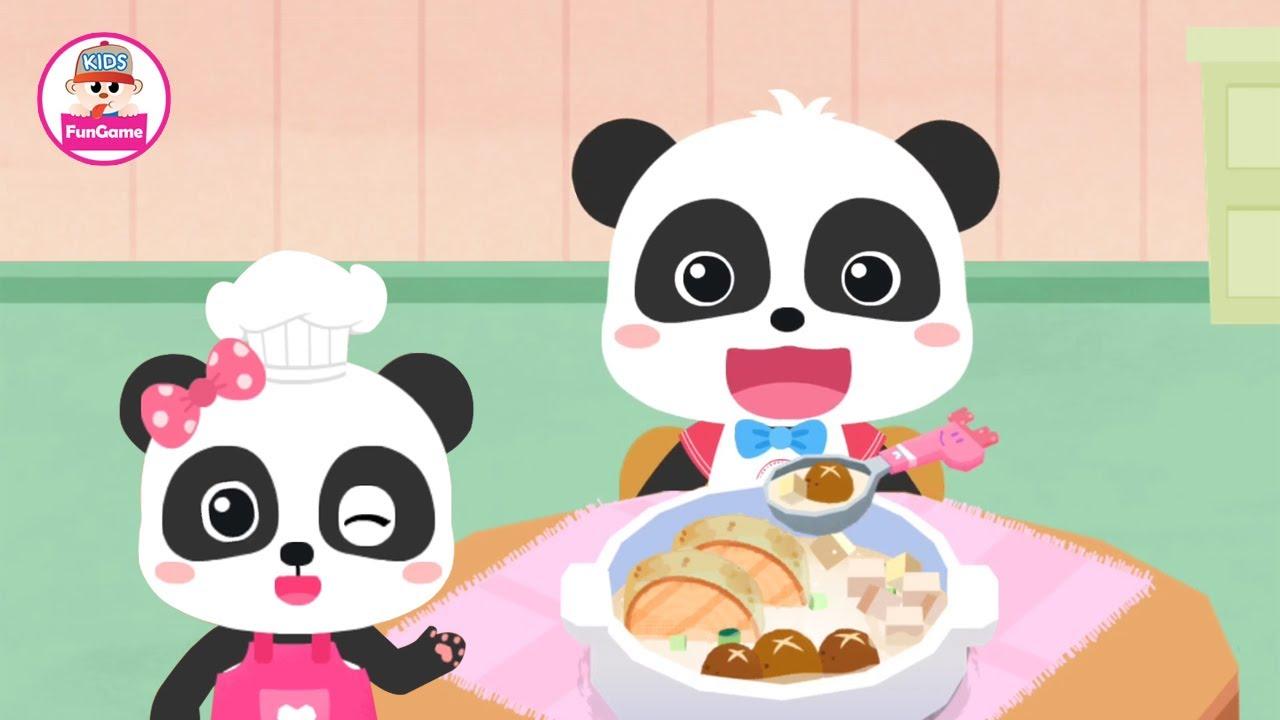 Siêu Đầu Bếp Kiki Và Miu Miu - Trò Chơi Nấu Ăn - Nấu Canh Súp Cá