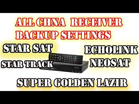 how to make backup on all china receiver software echolink