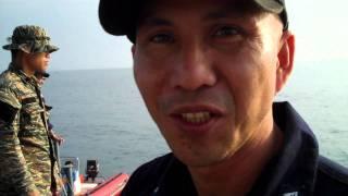 Navy Lt. Todio on sailing from Casiguran to Palanan.