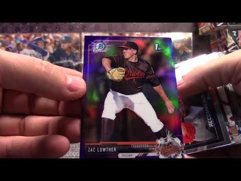 2017 Bowman Draft SUPER JUMBO Baseball 6 Box Case 'Random Teams' GB