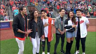 JAGMAC performing the National Anthem for the Baltimore Orioles 5/4/19