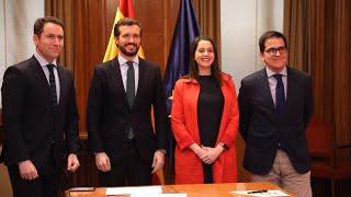 PP y Cs firman que el PP elija al candidato en Euskadi
