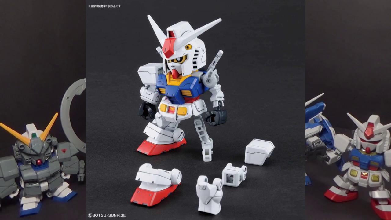 Bandai SD Gundam Cross Silhouette RX-78-2 Gundam /& Cross Silhouette Frame Set