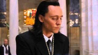 Локи: - Я такой маниакальный и великий...