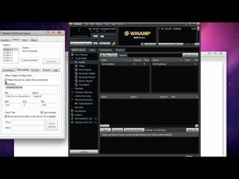 Setting up ShoutCast DSP Plugin for Winamp
