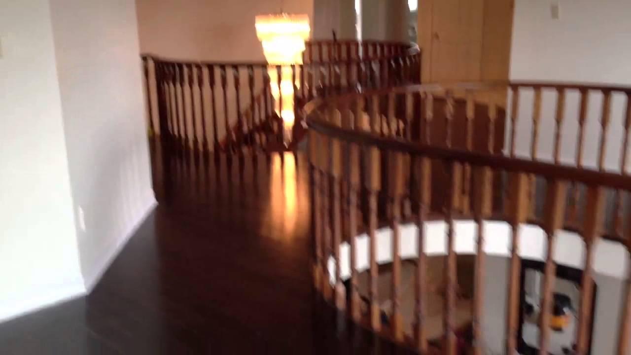 Floorama Flooring Dark Red Oak Hardwood With Curved Nosings