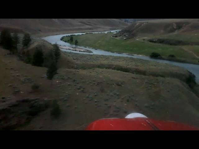Flying B Ranch - PVT - Approach and Landing (Idaho backcountry) HD