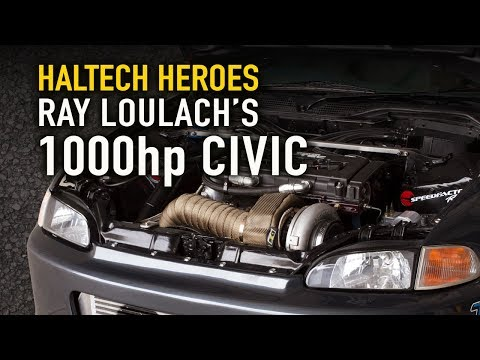 Ray's 1000hp Street Civic - Haltech Heroes
