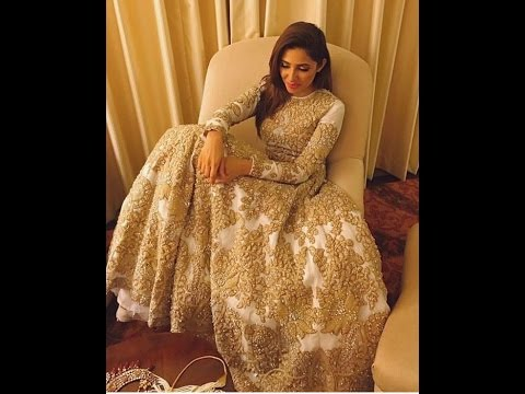 Exclusive Golden Bridal Lehenga Designs Part 01 Youtube