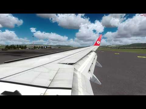 FSX Erzurum Landing ILS