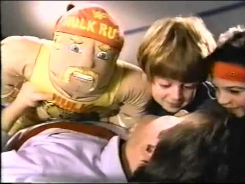 Wrestling Buddies Commercial