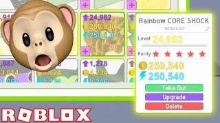 I GOT A RAINBOW CORE SHOCK!! | Pet Simulator | ROBLOX