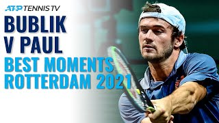 Two young guys, lots of fun in rotterdam...subscribe to our channel for the best atp tennis videos and highlights: https://www./tennistv?su...