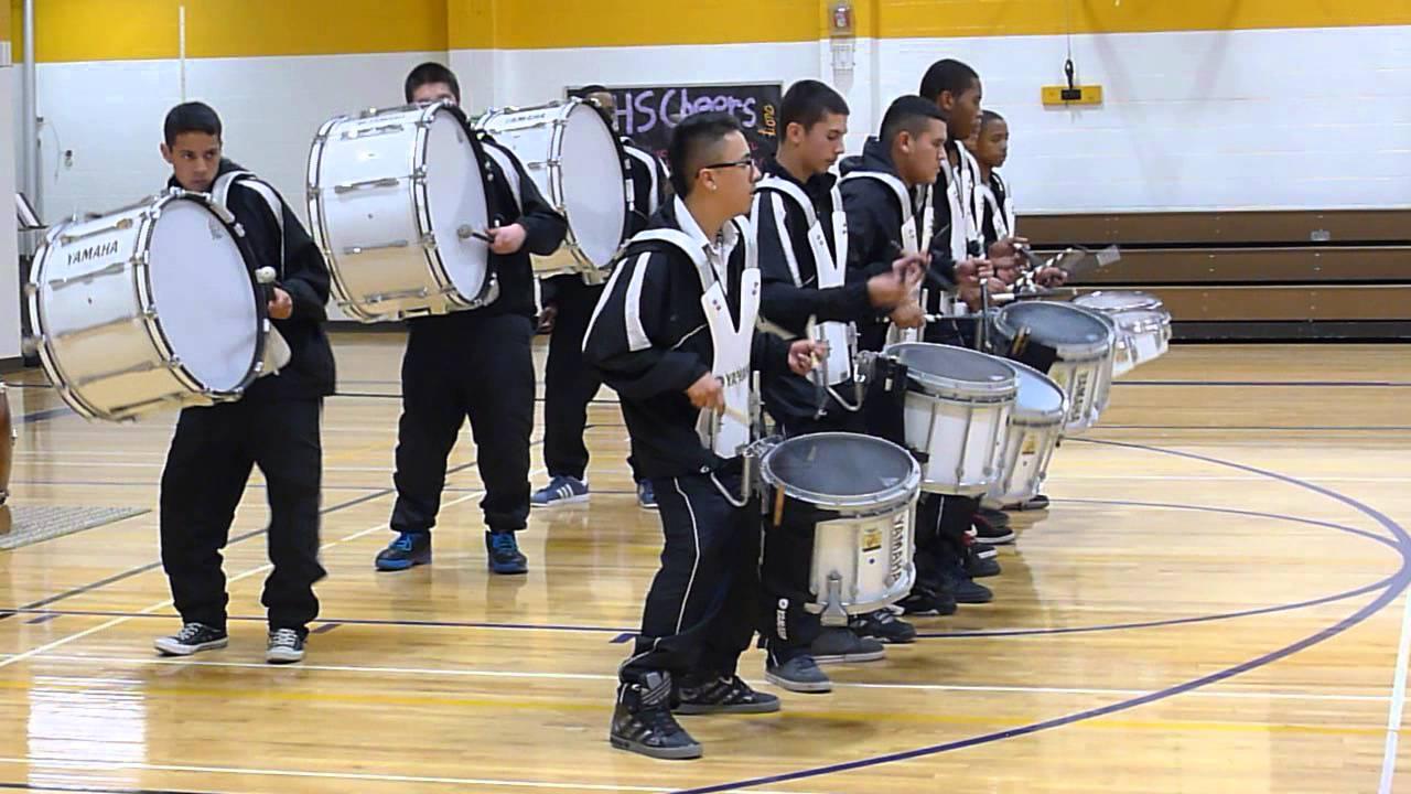 Beat crazy: Montbello High School Drum Line