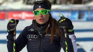 Antholz 2.5K Course Tour with Dorothea Wierer