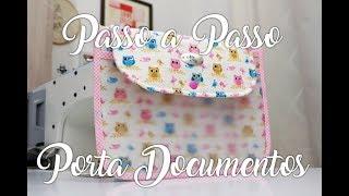 Passo a Passo – Pasta Porta Documentos