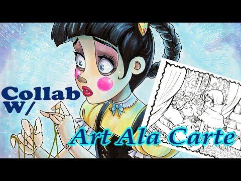 Fairy Tale Gender Swap Collab with Art Ala Carte!