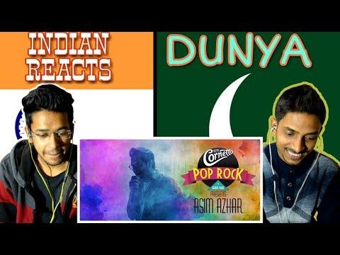 indian-reacts-to-:-dunya-by-asim-azhar-#cornettopoprock3