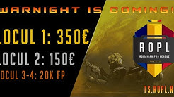🔴LIVE ROPL WARNIGHT CS:GO premii 500 euro CASH !!!!