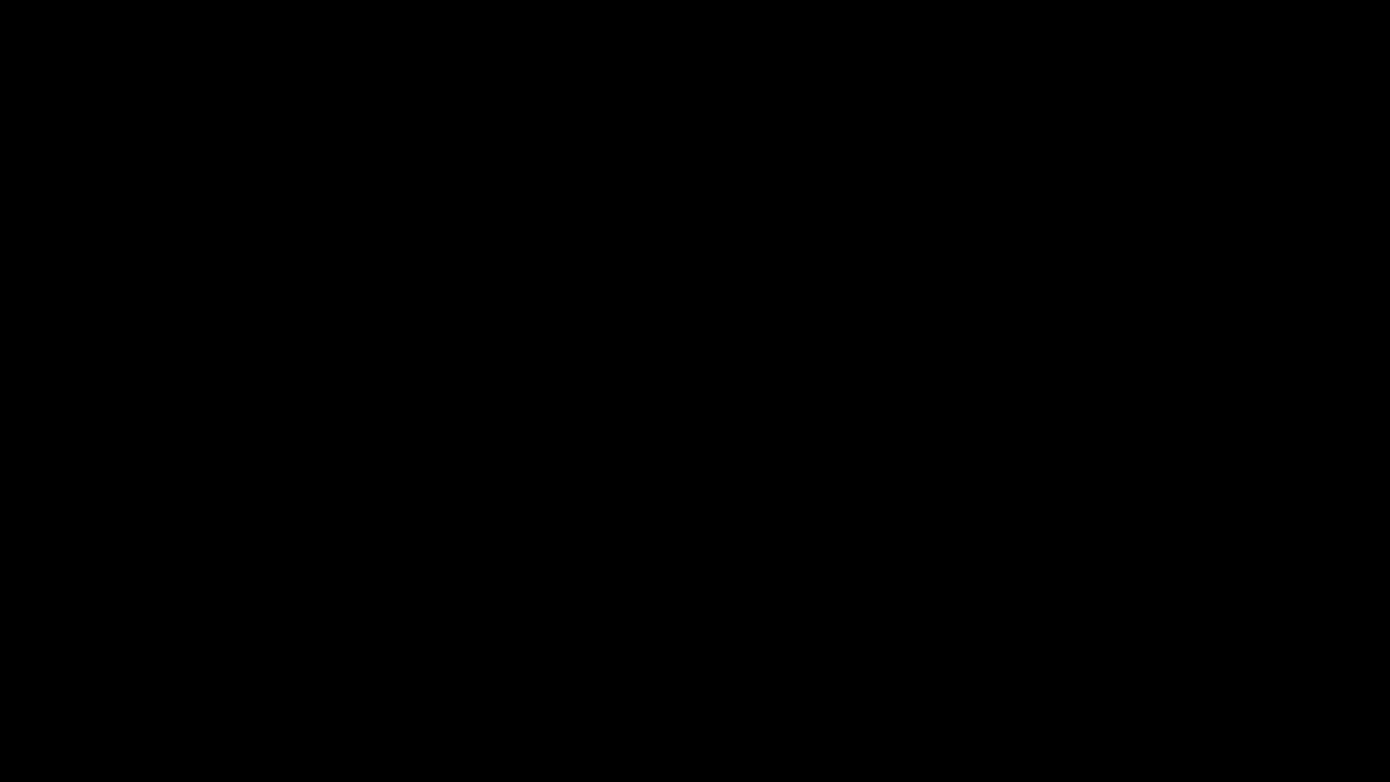 Un vídeo en negro
