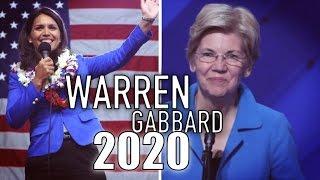 Tulsi Gabbard & Elizabeth Warren in 2020: Who Can Beat Trump? | Voice Message