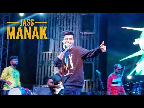 jass-manak-live-on-stage-at-zomaland-jaipur-||-prada-||-lehanga