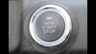 Установка умной кнопки старт/стоп для запуска двигателя