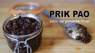 Pâte de piments Thai - Prik Pao - Le Riz Jaune