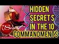 🤫 HIDDEN SECRETS IN THE #10COMMANDMENTS #HiddenBiblesecrets #Bible #biblestudy