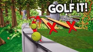 HE VUELTO A HACKEAR AL JUEGO!! Golf It!