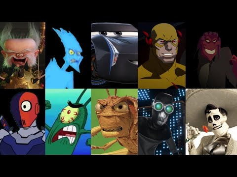 Defeats of My Favorite Animated Movie Villains Part 7