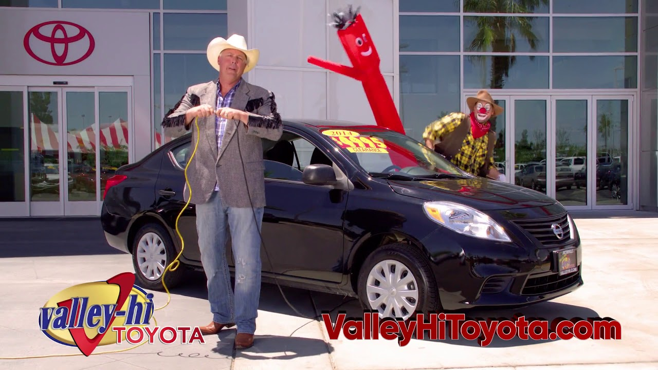 Valley Hi Nissan >> Valley Hi Toyota Used Car Tent Sale