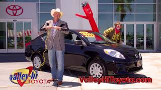Valley Hi Toyota Used Car Tent Sale