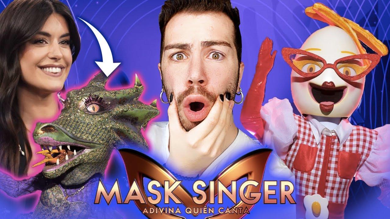 ¿DULCEIDA es dragona?😱 😱  Mask Singer GALA 2 | MALBERT DIRECTOS
