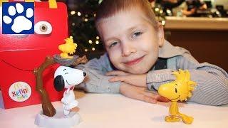 Снупи И Чарли Браун Мелочь Пузатая Хэппи Мил Макдональдс Snoopy And Charlie Brown:The Peanuts Movie