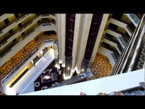 Hotel Tour, with Scenic Dover Elevators- The Hyatt in Louisville KY