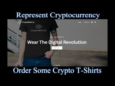 Cryptocurrency T-Shirts - Buy Some Crypto Shirts!