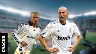 Beckham siempre le tuvo envidia a Zidane y ahora lo admitió