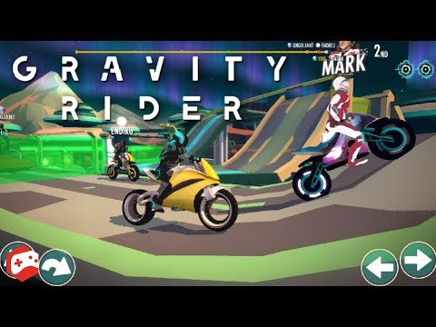 Gravity Rider: Extreme Balance Space Bike Racing (By Vivid Games S.A.) iOS/Android Gameplay Video